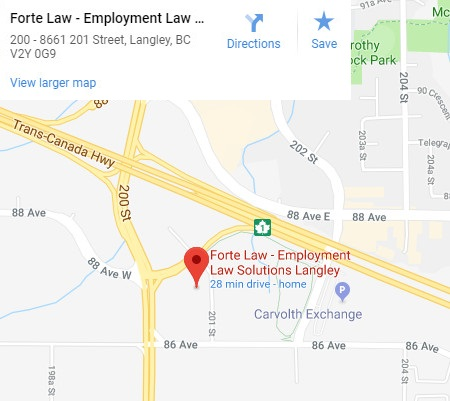 Forte Law | Employment Lawyers, Labour Lawyers, Human Rights Lawyers, offices in Surrey & Langley
